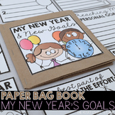 My New Year's Goals Paper Bag Book