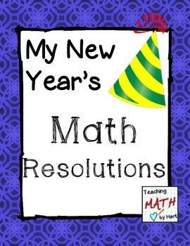 My New Year's Math Resolutions