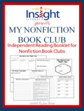 My Nonfiction Book Club Thinking Booklet for Grades 3-6