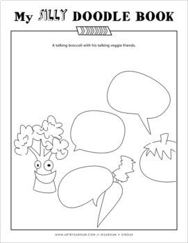 My Nonsense Doodle Sketchbook