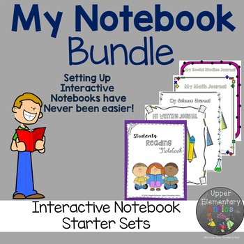 My Notebook Interactive Notebook Bundle