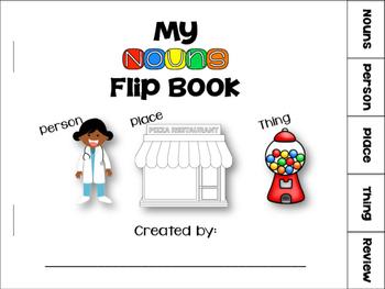 My Nouns Flip Book