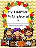 My November Writing Journal Cover