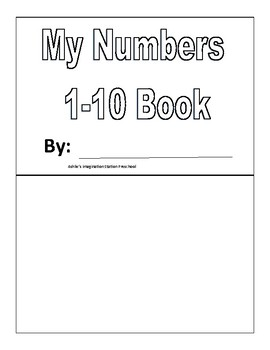 My Number 1-10 Book