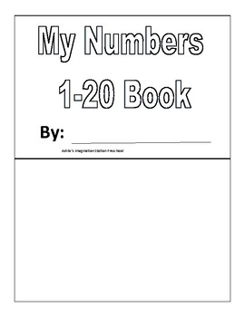 My Number 1-20 Book