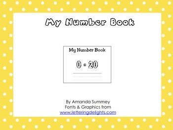 My Number Book 0-20