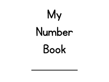 My Number Book!
