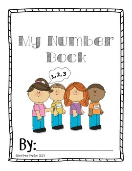My Number Book 1 10 By Brittany Fasolino Teachers Pay