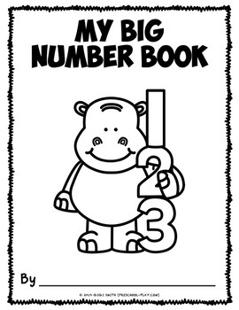 My Number Book 1-20