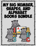 My Number and Alphabet Book MINI BUNDLE