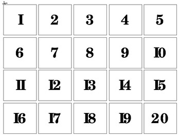 My Number Book - 1 to 20