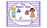 My Number Book (A Velcro Task for Students with Autism)