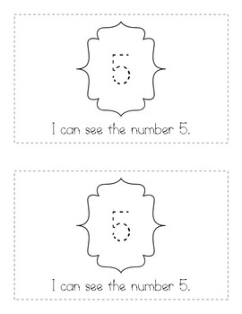 My Number Books - 5 [Five]