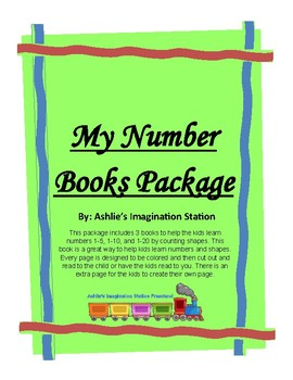 My Number Books Package