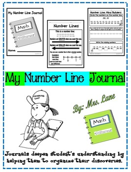 My Number Line Journal