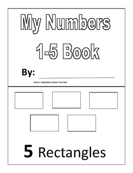 My Numbers 1-5 Book