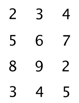 My Number's Bigger Than Your Number Lattice Multiplication Game