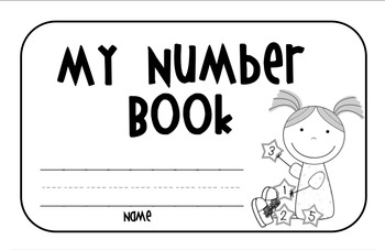 My Numbers Book 0-10 (Common Core)