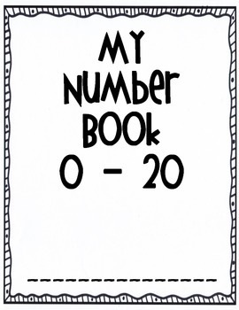 My Numbers Book 0 - 20
