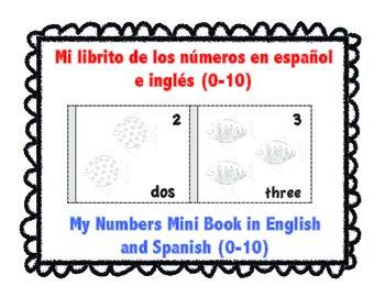 My Numbers Mini Book-Mi librito de los numeros