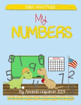 My Numbers (Sight Word Play)