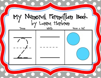 My Numeral Formation Book