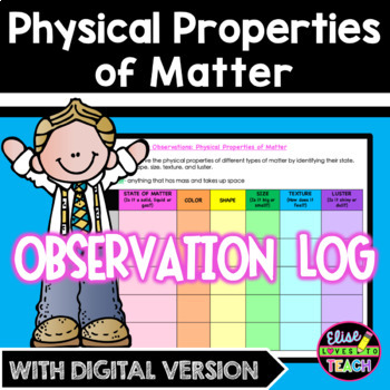 My Observations: Physical Properties of Matter