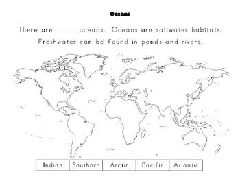 My Ocean Creatures Notebook