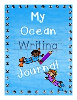 My Ocean Journal {K-2 Writing Journal}