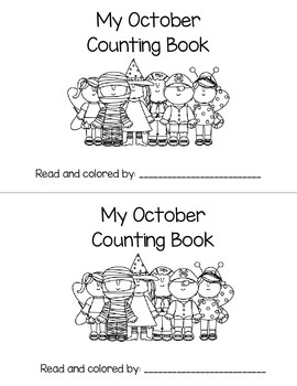 My October (or Halloween) Counting Book