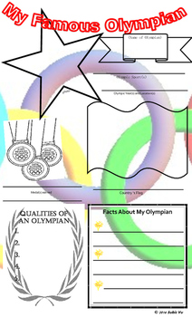 My Olympian Poster