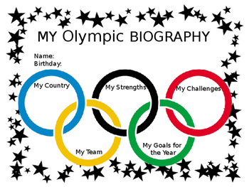 My Olympic Biography