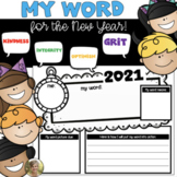 Happy New Year: My (One) Word Activity for Kindergarten &