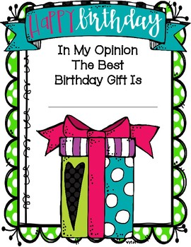 My Opinion About The Best Birthday Gift