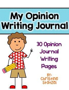 My Opinion Writing Journal