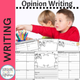 My Opinion Writing Frames for Grades 1-3 Ready to Print CC Aligned