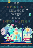 My Opinions Change With New Information Science Poster (Ga
