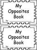 My Opposites Book Activity