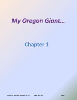 'My Oregon Giant' Volume 1 Book