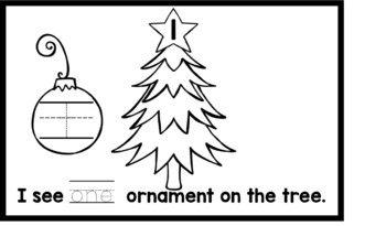 My Ornament Counting Book-Numbers 1-10