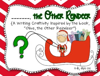 """My """"Other"""" Reindeer {A Unit Inspired by """"Olive, the Other Reindeer""""}"""