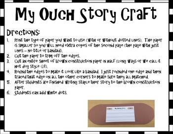 My Ouch Story