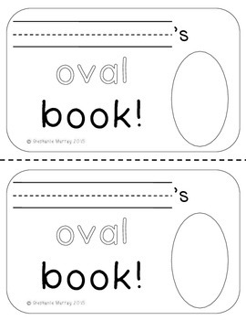 My Oval Book
