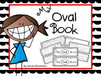 My Oval Book-EASY PREP!