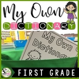 Journeys 1st Grade Dictionary Reading and Writing Resource