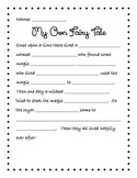 My Own Fairy Tale Writing
