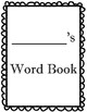 My Own Spelling Word Book Dictionary
