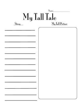 My Own Tall Tale