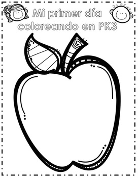 Back to School: My PK3 Memory Book in English & Spanish