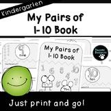 My Pairs of Book (Kindergarten K.OA.3)